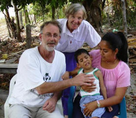 Richard Seivert & Sr. Val with 4-year-old child