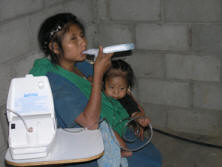 Learning to use a nebulizer
